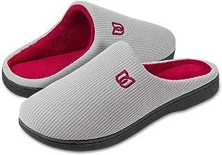 Zapatillas Hombre Mujer Invierno CáLido Zapatos Memory Foam Casa Antideslizante Pantuflas