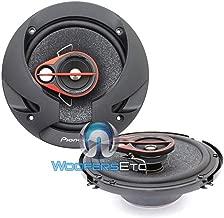Pioneer 6.5-Inch 80W 3-Way Coaxial Car Audio Speaker, Set of 2