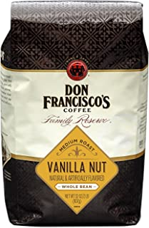 Don Francisco's Whole Bean Vanilla Nut Flavored Coffee (32-ounce bag)