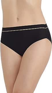 Vanity Fair Women's Light and Luxurious Hi Cut Panty 13195,