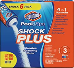 Clorox Pool&Spa Shock Plus 6 Pack (1 lb Bags)