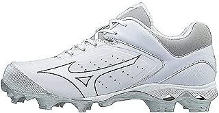 Mizuno Women's 9-Spike Advanced Finch Elite 3 Fastpitch Cleat Softball Shoe, White/White, 9.5 B US