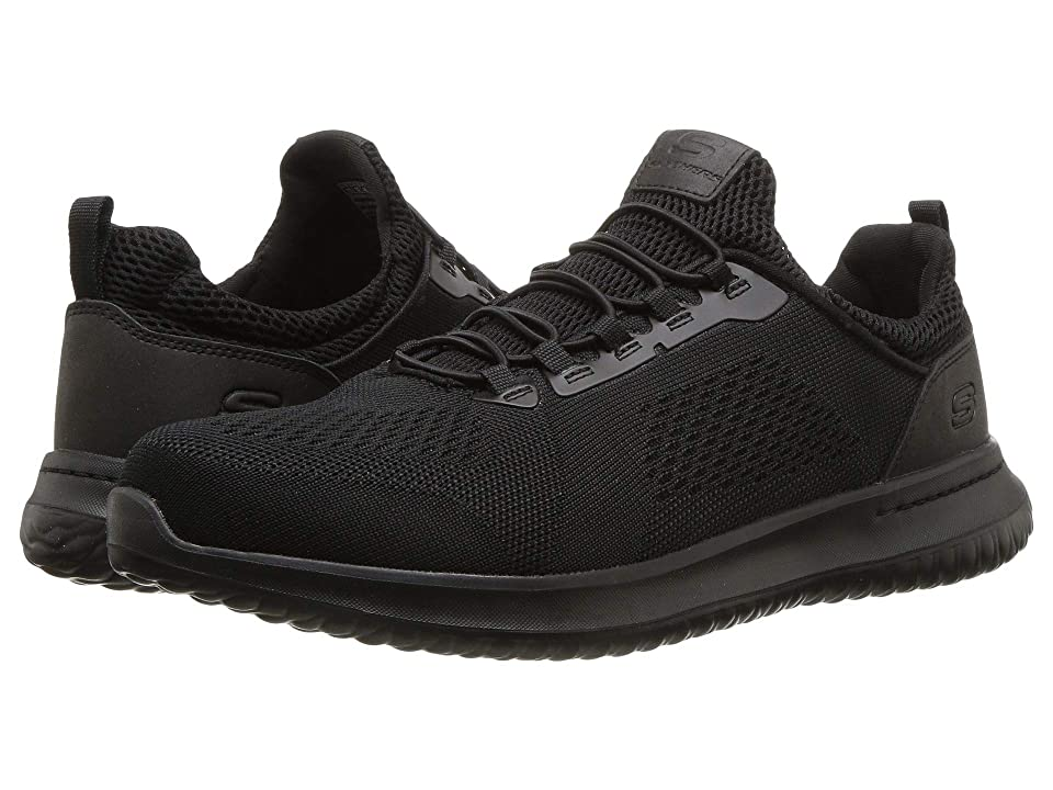 SKECHERS Delson Brewton (Black) Men