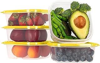 Oursson Ensemble de boîtes de Rangement Alimentaires-À Usage Multiple-Lot de 20 récipients Alimentaires en Plastique sans ...