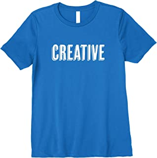 Superkids Inspirational Tshirt for Kids: I am Creative