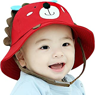7683db7e66f IMLECK Little Lion Baby Sun Hat Outdoors Hat with Chin Strap
