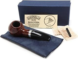 Savinelli Italian Tobacco Smoking Pipes, Trevi Smooth 320 KS