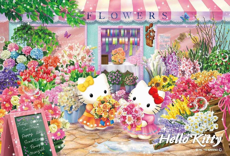 Hello Kitty   Puzzle   108 Pcs Flower Shop M108-100 ( Japanese Import ) (japan import)