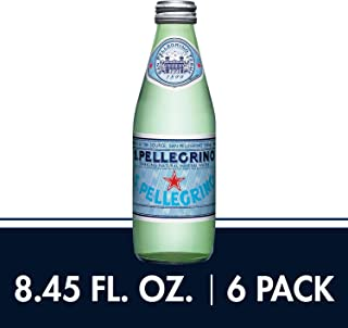 S.Pellegrino Sparkling Natural Mineral Water, 8.45 fl oz. (6 Count)