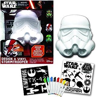 Star Wars Deluxe Design a Vinyl Storm Trooper Play Set
