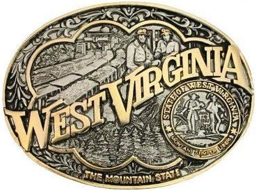 Montana Silversmiths State 4 years warranty Heritage New life Buckle Attitude Western Belt