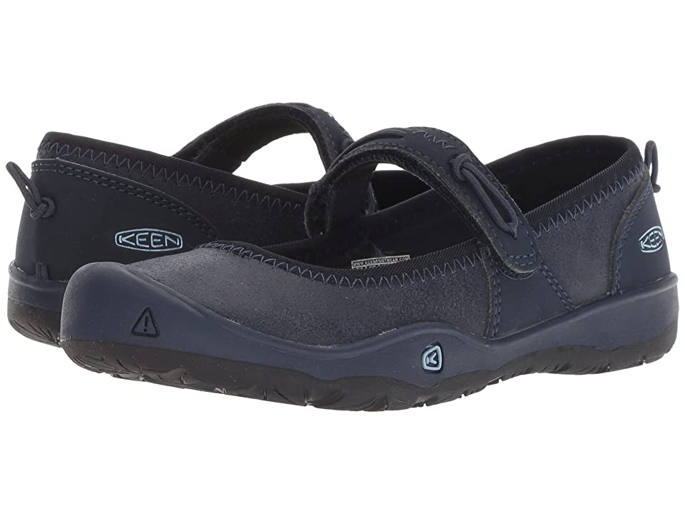 Keen Kids Moxie Mary Jane (Little Kid/Big Kid) (Blue Nights/Blue Fog) Girl