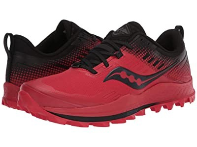 Saucony Peregrine 10 ST (Red/Black) Men
