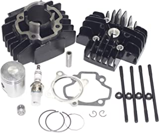 Outdoors & Spares Replaces Yamaha PW50 60cc Big Bore Cylinder Piston Ring Gasket Top End Kit 1981-2018 (Fits: PW50)