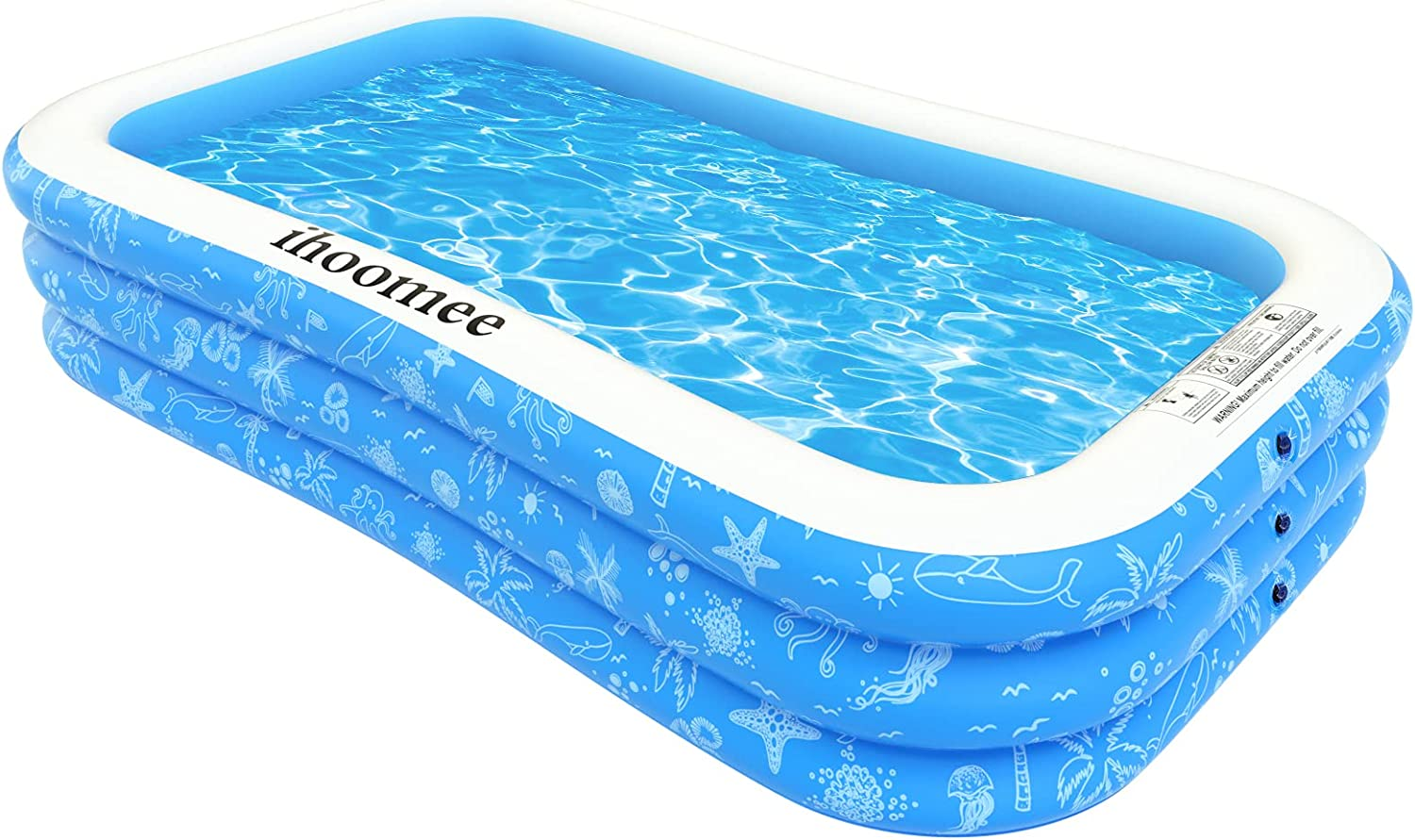 online shop Ihoomee Inflatable Max 76% OFF Swimming Pool 118