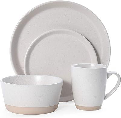Pfaltzgraff Hudson 16-Piece Dinnerware Set, Beige