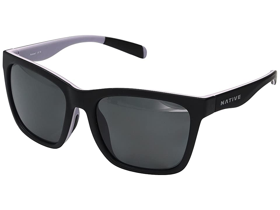 Native Eyewear Braiden (Matte Black/Blush/Violet) Sport Sunglasses