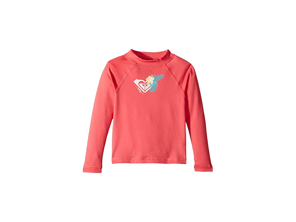 Roxy Kids Hawaii Long Sleeve Rashguard (Toddler/Little Kids) (Honey Suckle) Girl