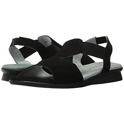 David Tate Ash (Black Nubuck) Women