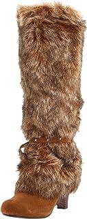 Naughty Monkey Women's Shaggy D Boot,Tan,9 M US