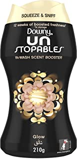 Downy Unstopables In-Wash Freshness And Scent Booster Beads, Glow Scent, 210 gm, Special Offer