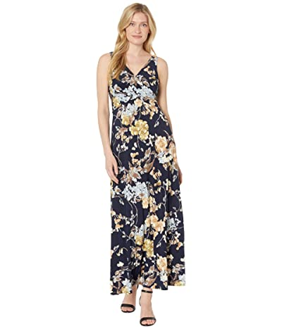 LAUREN Ralph Lauren Floral Jersey Sleeveless Dress Women