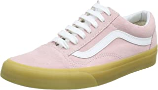 Vans Unisex Adults' Old Skool Trainers, Pink (Double Light Gum) Chalk Pink Qk7, 4.5 UK 37 EU