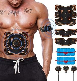 EMS 腹筋ベルト 腹筋ベルト USB充電式 トレーニング 腹筋トレーニング 筋トレ器具 6モード 9強度 男女兼用 ダイエット器具 腹筋パッド 腹筋 腕筋 お腹 腰部 腕 腹筋トレ ダイエット器具 多部位脂肪燃焼 強度調節可