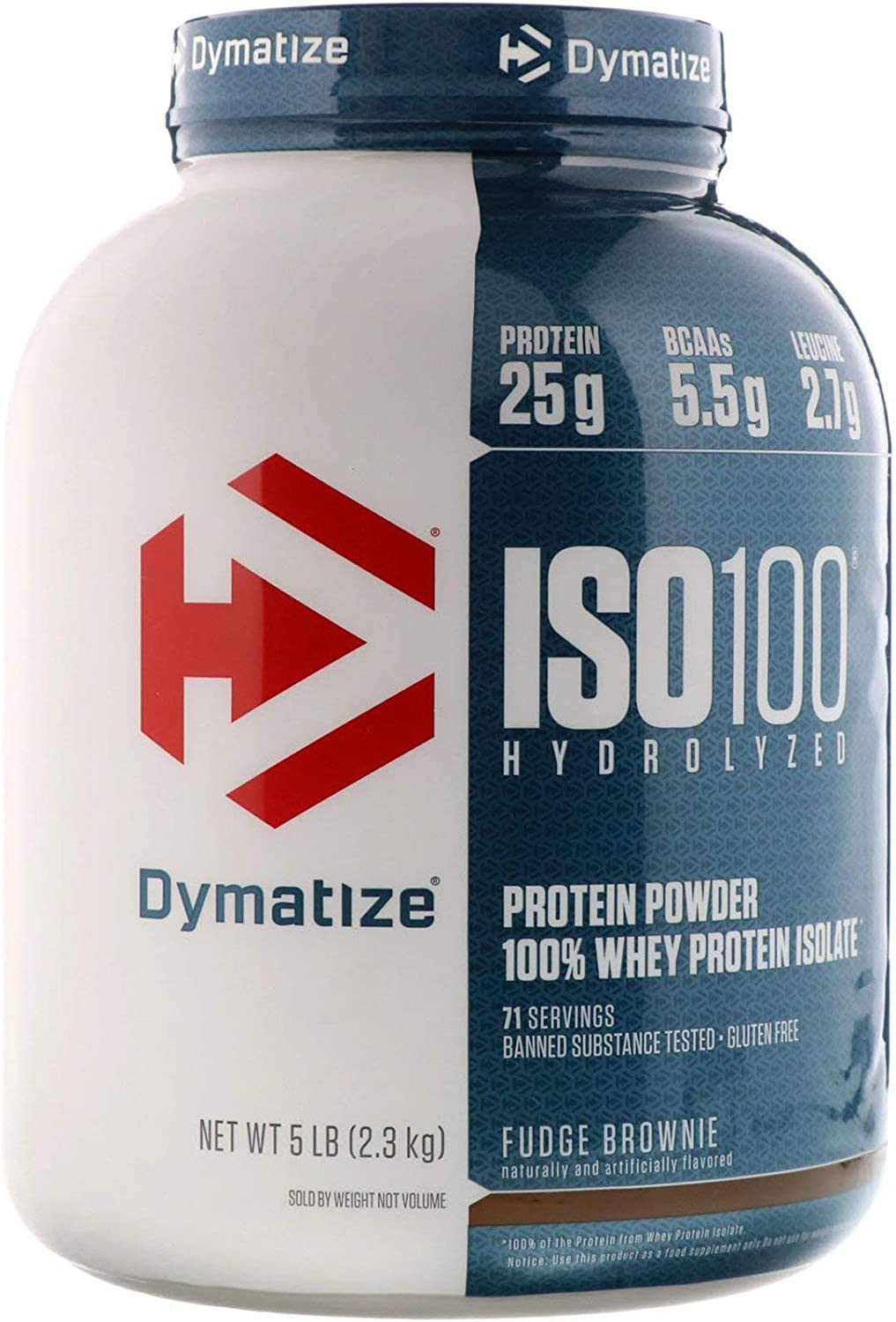 Dymatize ISO 100 Hydrolyzed Whey Spring new work one after another Powder Protein Fudge Isolate B Quantity limited