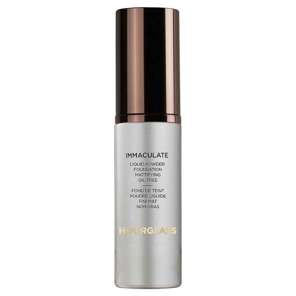 硬化するアフリカ人自分の自然の砂時計真っ白な液体パウダーファンデーション (Hourglass) (x2) - Hourglass Immaculate Liquid Powder Foundation Natural (Pack of 2) [並行輸入品]
