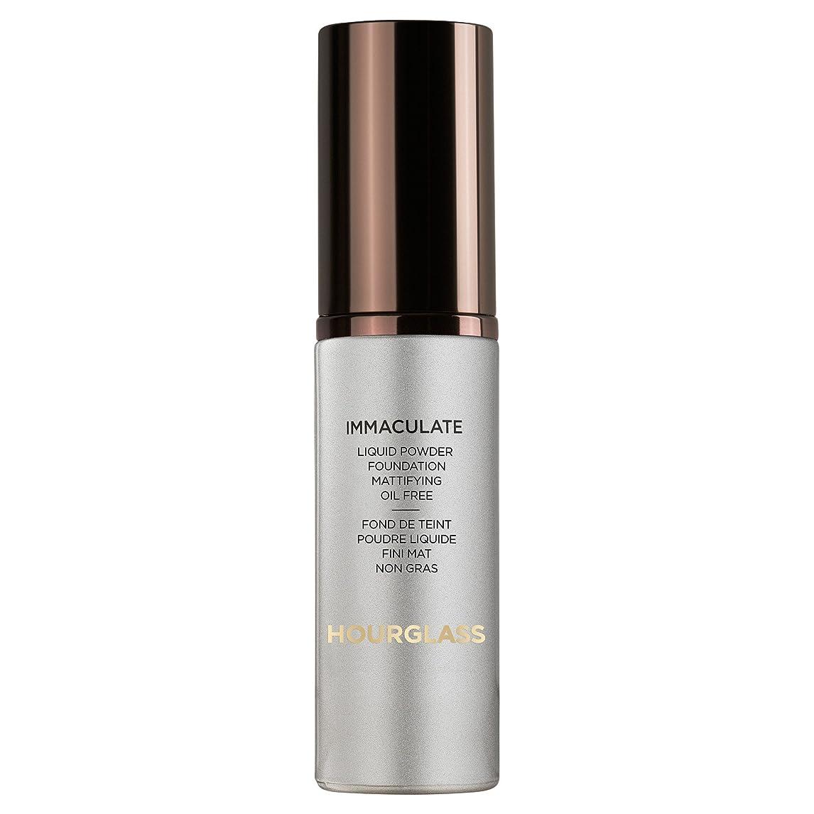 膨らませる祝福する電気のヌード砂時計真っ白な液体パウダーファンデーション (Hourglass) (x6) - Hourglass Immaculate Liquid Powder Foundation Nude (Pack of 6) [並行輸入品]