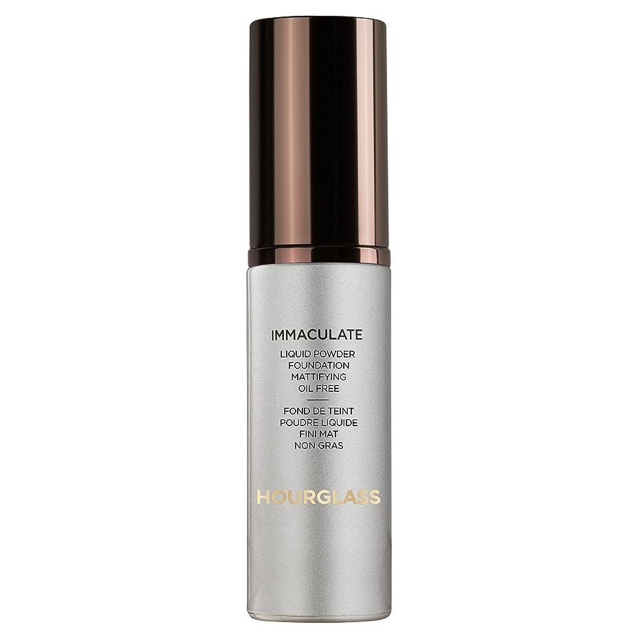 カロリーとティーム寛大な砂時計真っ白な液体パウダーファンデーションバニラ (Hourglass) (x6) - Hourglass Immaculate Liquid Powder Foundation Vanilla (Pack of 6) [並行輸入品]