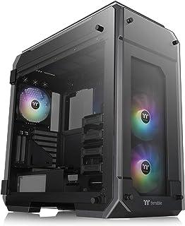 حافظة كمبيوتر كمبيوتر كمبيوتر للألعاب برج كامل ومزامنة مع 3 مراوح 140 ملم 5 فولت للمزامنة ARGB مثبتة مسبقًا CA-1I7-00F1WN-03