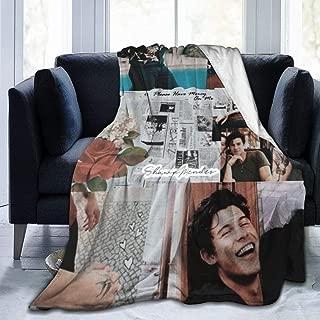 Monroe Lyndon Throw Blanket Sha-wn Mend-ES All Season Ultra Premium Fluffy Microfiber Soft Thick Microplush Bed Blanket 80