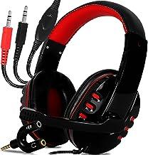 Fone de Ouvido Gamer Headset Find Gamer com microfone para jogos computador pc com adaptador celular e ps4