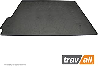 Travall Liner Compatible with Porsche Macan (2014-Current) TBM1129 - All-Weather Black Rubber Trunk Mat Liner