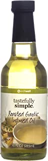 Tastefully Simple Roasted Garlic Infused Oil - 10 Oz