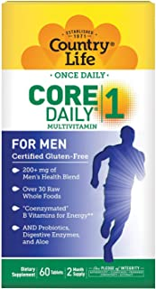 Sponsored Ad - Country Life Core Daily 1 for Men Tablets, 60 Count