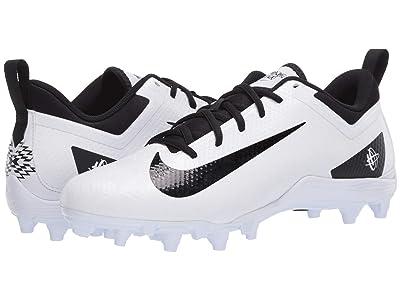 Nike Alpha Huarache 7 Varsity Low Lax (White/Black/White) Men