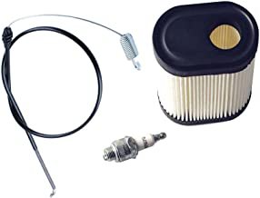 Wadoy 105-1844 Traction Cable with Air Filter and RJ19LM Spark Plug for Toro 20013/20014/20017/20018/20031