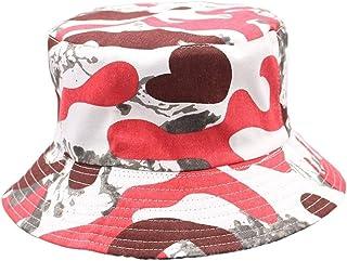 mimiliy دلو القبعات طباعة دلو قبعة صياد قبعة في الهواء الطلق السفر قبعة الشمس قبعة القبعات للرجال والنساء