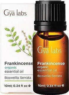 Gya Labs Organic Frankincense Essential Oil for Meditation & Relaxation - Natural Skin Care for Fine Lines, Wrinkles & Sen...