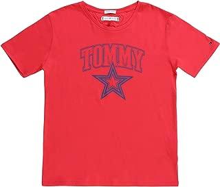 Tommy Hilfiger Girls KG0KG04079-Teaberry S/S T-Shirts