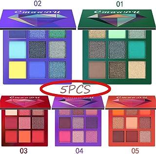 HENGKANG (5Pcs) 45 Couleurs Eye Shadow Palette 175g