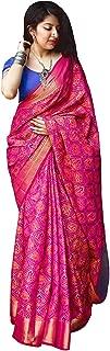 Devangi Fashion Silk Saree With Blouse Piece