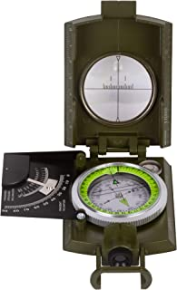 Levenhuk Army AC20 Bussola Tattica a Liquido, con Fessura di Puntamento, Clinometro, Scale per Mappe, Livella a Bolla, Cin...