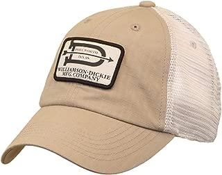 J. America Dickies Williamson-Dickie Co Logo Mesh Back Adjustable Hat Khaki