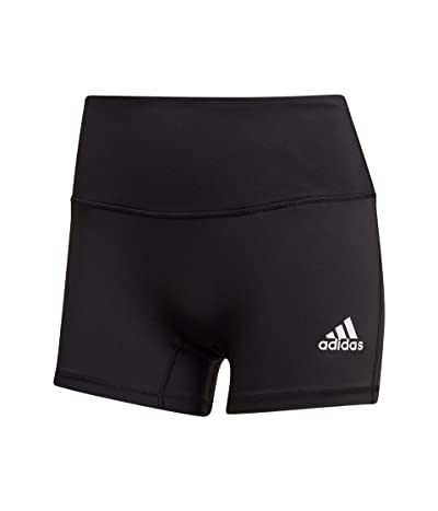 adidas 4 Short Tights (Black/White) Women
