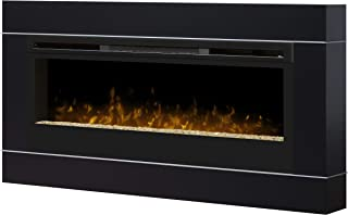 Dimplex DT1267BLK Cohesion Wall-Mounted Fireplace Surround, Black