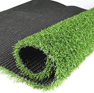 Artificial grass, 2cm Pile Height Realistic Fake Grass Deluxe Synthetic Turf Thick Lawn Pet Perfect for Carpet Doormat (Size : 2x3m)
